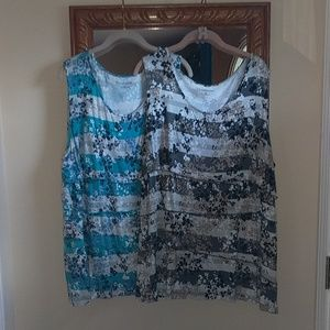 2 Tank Tops and FREE Pajamas all by Croft & Barrow